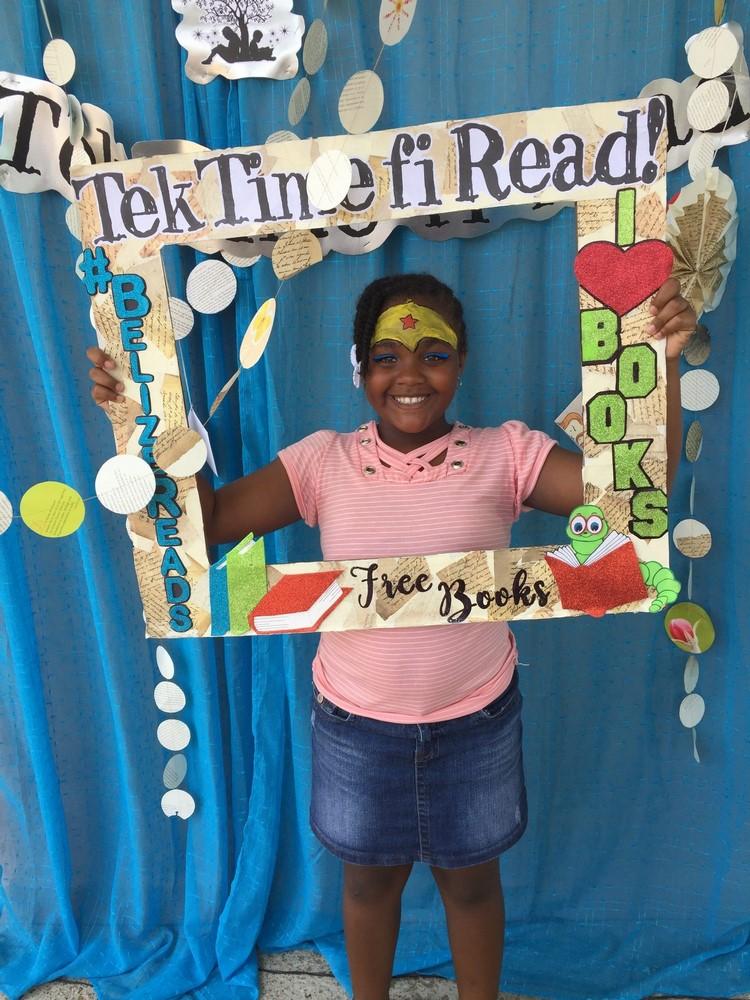 Tek Time fi Read Belize